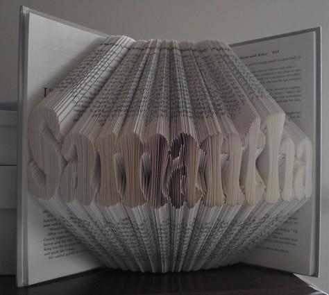 livres pli s folded books tutoriels de pliage de livres origami partage et. Black Bedroom Furniture Sets. Home Design Ideas