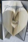livre plie double coeur michele