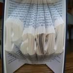 livres pli s folded books tutoriels de pliage de livres sculpture de livres. Black Bedroom Furniture Sets. Home Design Ideas